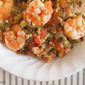 Okra and Tomatoes Recipe with Jumbo Shrimp and Tasso