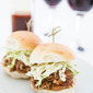 Eastern Carolina Pulled Pork Sliders and Ranch Slaw