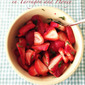 RECIPE: Macerated Strawberries in Tarragon and Honey