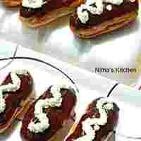 Chocolate Éclairs Recipe from Scratch | Choux Pastry with Basic Vanilla Custard Filling