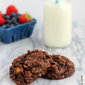 Chocolate Walnut Breakfast Cookies