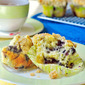 Blueberry Lemon Crumble Muffins