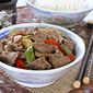Black Pepper Beef Stir Fry