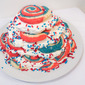 RW&B Week, Day 2: Red, White, & Blue Ice Box Cake