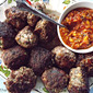 Fresh Summer Salsa and Meatballs