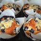 Blueberry Crunch Muffins: Recipe