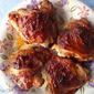 "BBQ"" Style Chicken Thighs"
