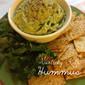 Garlicky Kale Hummus