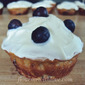 High Protein~Low Sugar Muffins with Low-Carb Icing