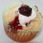 Coconut Cream Filled Raspberry Cupcakes