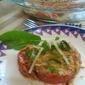 Tomato Crumble | Crumbly Caprese Salad