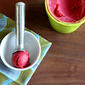 Plum Raspberry Sorbet