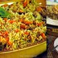Colorful Couscous with Carrots and Sage
