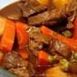 Kalderetang Kambing (Goat Meat Spicy Stew)