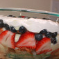Patriotic Trifle for the Kids to Make