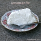 Lemonade Refrigerator Pie