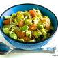 Avocado, Mandarin Orange and Jicama Salad with Key Lime Dressing