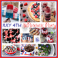 Berry Patriotic Ice Cream Cake & July 4th Round Up