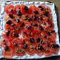 Tart with olives and capers - a greek treat from Kitchen Nomad
