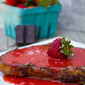 Chocolate French Toast with Fresh Strawberry Sauce #SundaySupper