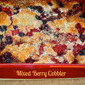 July Secret Recipe Club...Featuring Mixed Berry Cobbler from Dancing Veggies