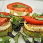Zucchini and Goat Cheese Stacks, I love a parade!