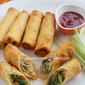 Vegetable spring roll - Indian Chinese style