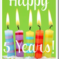Cheers to Five Years – A GIVEAWAY
