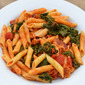 Bacon, Kale and Tomato Pasta