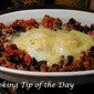 Chorizo Black Beans and Eggs
