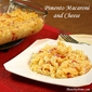 Pimento Macaroni and Cheese