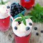 Pomegranate Blueberry Floats