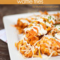 Buffalo Chicken Waffle Fries