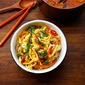 Stir-Fry Rice Vermicelli With Vegetables