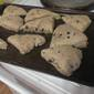 whole Wheat Flax Blueberry Scones