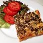 Mushroom and Pepper Jack Tart