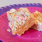 Animal Cookie & White Chocolate Rice Krispie Treats + How To Video