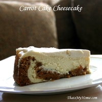 Carrot Cake Cheesecake Recipe by Mary - CookEatShare