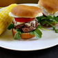 Ina Garten Sliders with Gruyere, Arugula, Tomato and Onion
