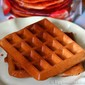 The BEST Gluten-Free, Vegan Vanilla Waffles