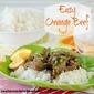 Easy Orange Beef