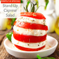 Stacked Tomato and Mozzarella Appetizer Recipe