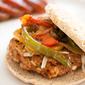 Living Fajita Loca: Chicken Fajita Burgers