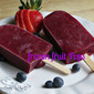 Frozen Berries Fruit Pops