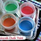 DIY Sidewalk Chalk Paint (Fun & Frugal Summer Craft}