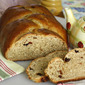 Honey Whole-Wheat Challah Bread . . . with Dried Cherries