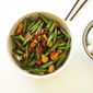 Stir-Fry Spicy Green Beans With Shrimp
