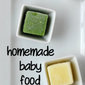 Homemade Baby Food: Vegetables + OXO Giveaway