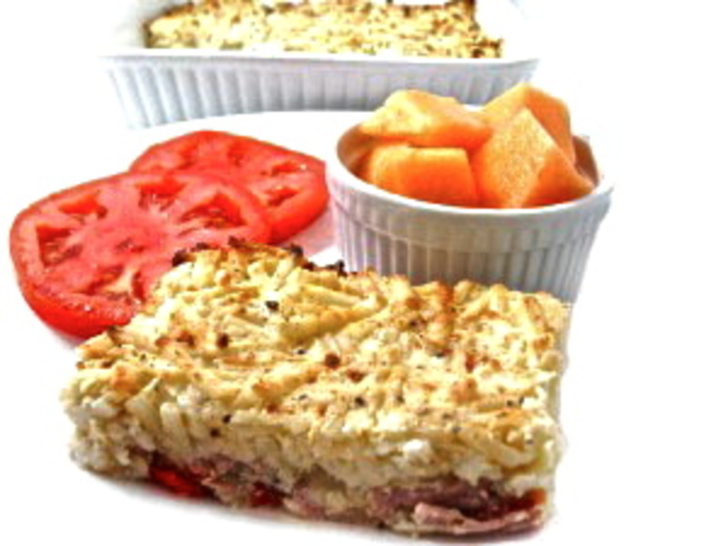 Skinny Denver Omelette and Hash Browns Casserole Recipe by Nancy ...