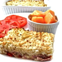 Skinny Denver Omelette and Hash Browns Casserole